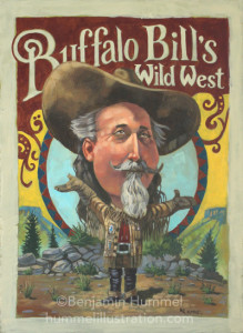 Buffalo Bill Caricature
