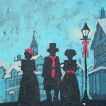 Dicken's Carolers - Holiday Art