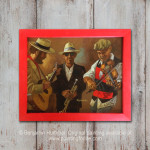 Hat Shop Musicians - Wall Art