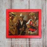 Hat Shop Musicians - Wall Art
