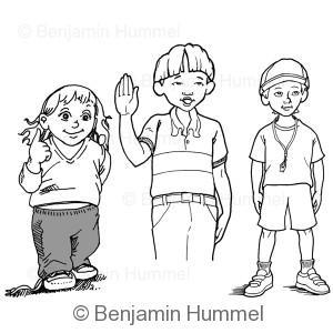 Children Character Studies