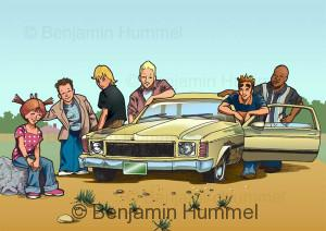 """Hummel Heights"" - Web Comic Adventures"