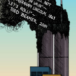 """Twin Towers Magazine art for """"Centennial Review"""""""