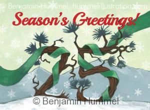 Client Christmas Card - University Hospital Colorado