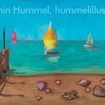 Sailboats and Shells - Fine Art, Wall Art