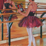 Ballerina in the Mirror - Fine Art