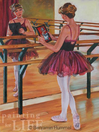 ballerina in the mirror-web