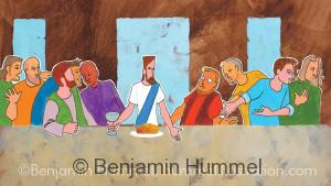 Last Supper - Easter Art