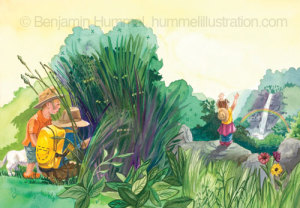 "Art From ""Prayer Posies"" Picture Book"