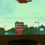 Rise Above It - Kid's Book Illustration