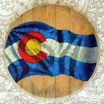 Colorado Barrelhead - Wall Art