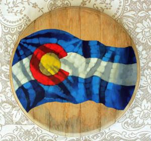 Colorado Barrelhead - Wall Art