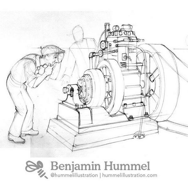 A Dynamo Generator :: Hummel Illustration