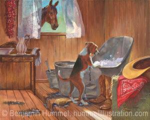 cowboy-bath-w-dog-alsc-b-hummel